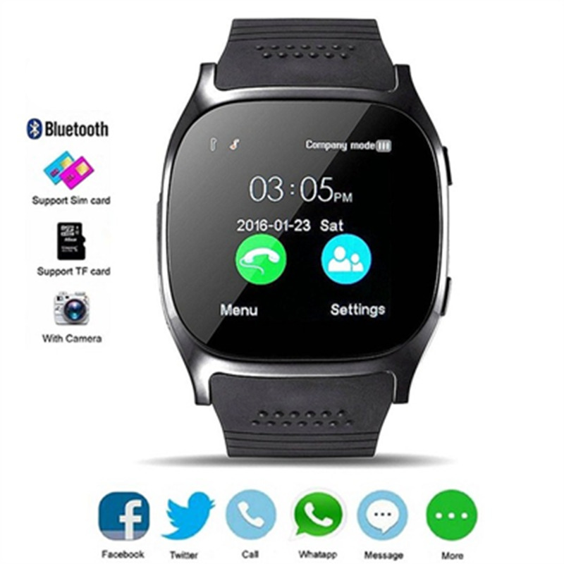 цена на Waterproof smart watch Bluetooth Smart Watch SmartWatch Compatible IOS Android Mobile Phone Smart Electronic Watch sport watch
