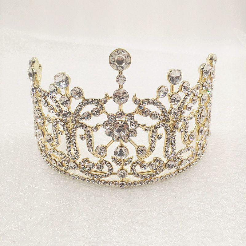 تيجان ملكية  امبراطورية فاخرة 2017-Miss-Universe-Royal-Regal-Big-Gold-Golden-font-b-Quinceanera-b-font-Bridal-Tiaras-crowns