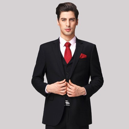 61c7e576fa39a US $94.9 |Jackets+Pants 2 Pieces 2015 Western Style Black Color Men  Business Suits Brand Boss Suit For Men's Wedding Groom Blazers Tuxedos-in  Suits ...