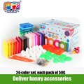 Ultra-light Clay Children's Educational Toys 50 Grams 24 Color Box Genuine Non-toxic Rubber Mud