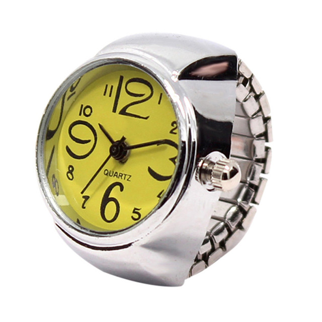 2017 New Ring Watch Fashion Special Disign Dial Quartz Analog Lover's Watch Crea