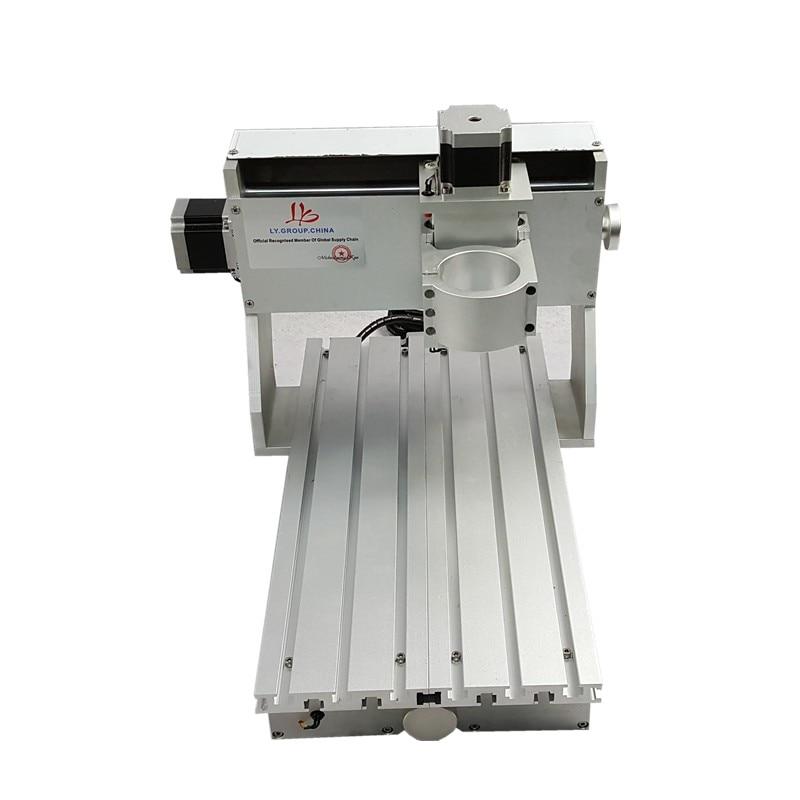 ᗔPrecio barato DIY CNC marco torno cama 3020 con motores paso a ...