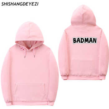 2018 New BADMAN Hoodies poleron hombre hip hop Streetwear sweatshirt men women pullover cotton Casual men's hoodies - DISCOUNT ITEM  0% OFF All Category