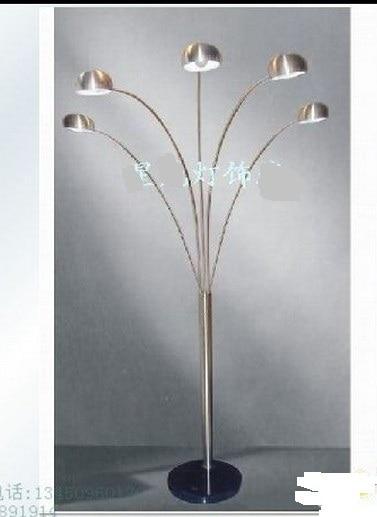 Promotion Quality Fashion Modern Luxury Chromed 2/3/5 Head Floor ...