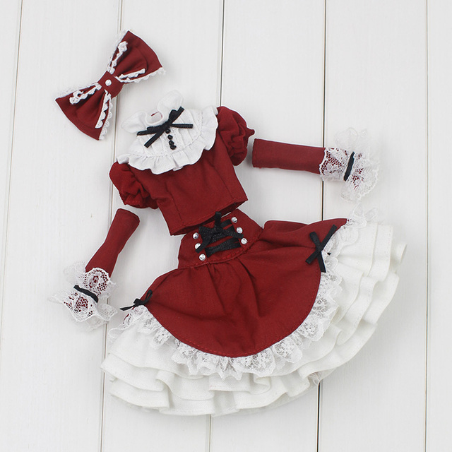 Neo Blythe Doll Red Suit