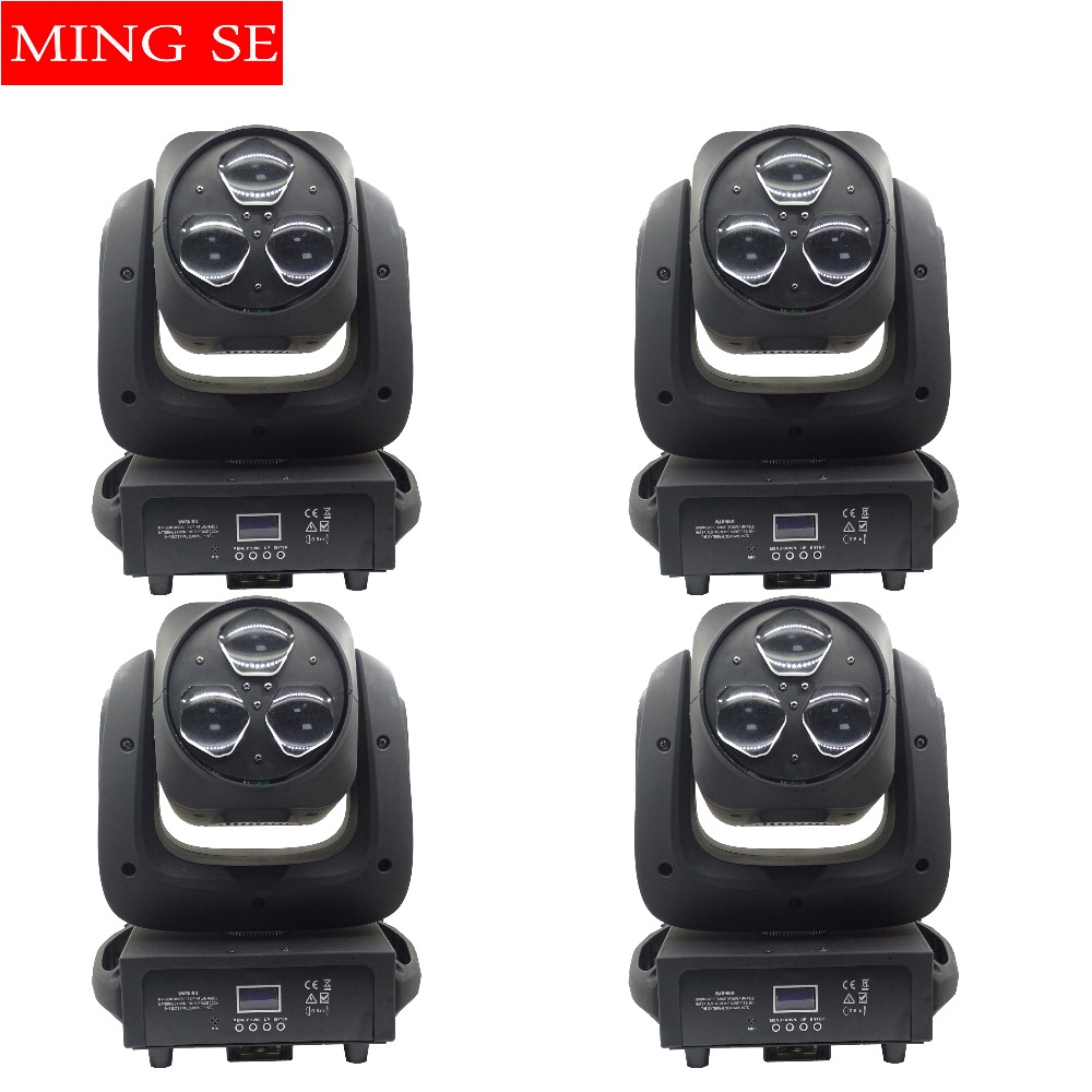 4pcs/lots 3x40W Beam Light RGBW 4IN1 LED Bee Eyes Moving Head Light With Zoom Stage Lights DJ Show Wedding Light4pcs/lots 3x40W Beam Light RGBW 4IN1 LED Bee Eyes Moving Head Light With Zoom Stage Lights DJ Show Wedding Light