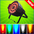 4PCS/CARTON 24*15W RGBWA 5-IN-1 LED Par 64 Aluminum LED Par Cans Light 24x15 DMX Led Par Stage Lighting Effect