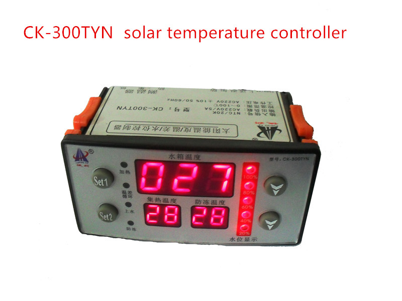 CK-300TYN solar temperature controller, water level controller,Temperature difference control instrument bf15b solar brain dual sensing line temperature difference instrument controller