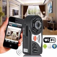 Q7 Мини DVR Wi-Fi Беспроводной IP Видеокамеры Video Recorder Камеры Инфракрасного Ночного Видения Камера Motion Обнаружения для ios Android НОВЫЙ
