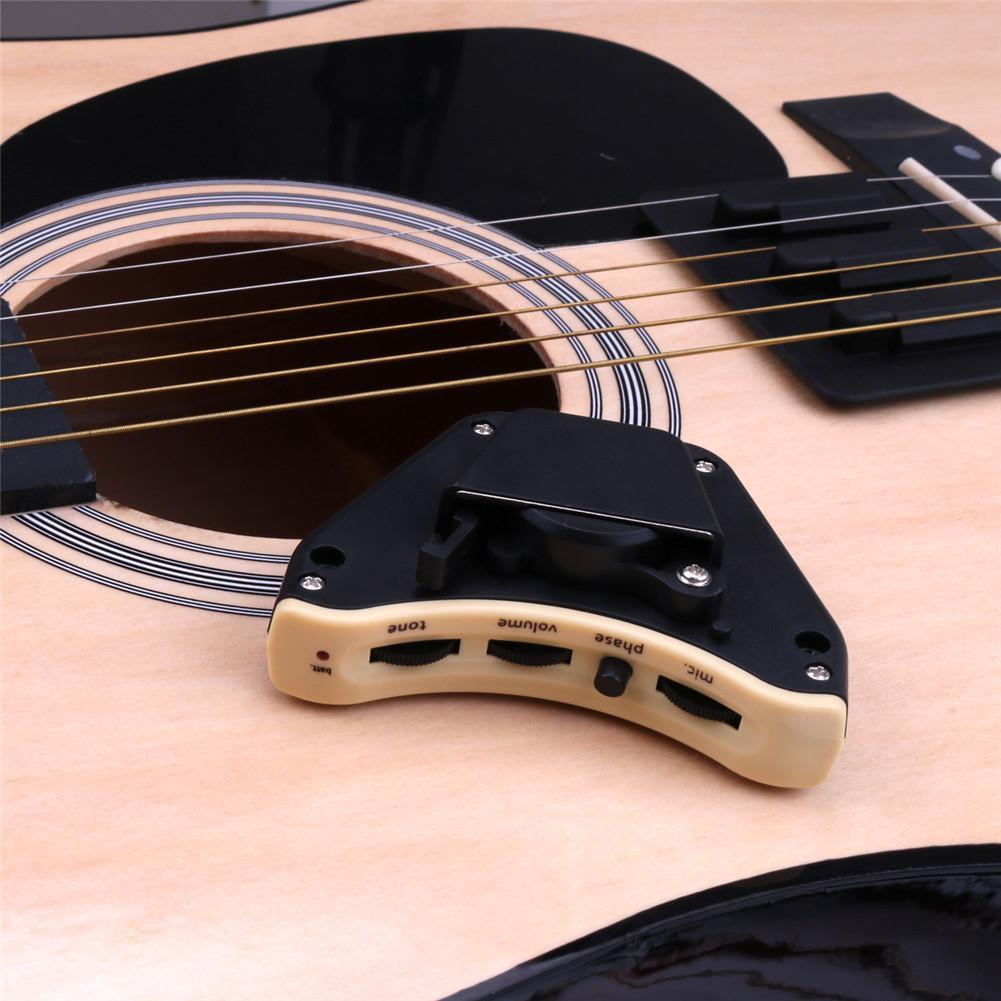 Guitare acoustique professionnelle EQ ballade guitare classique pick-up Double pick-up Instruments de musique micros pour guitare