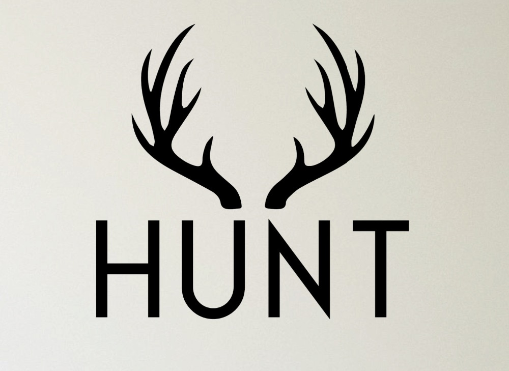 Popular Hunting Wall Decals-Buy Cheap Hunting Wall Decals ...
