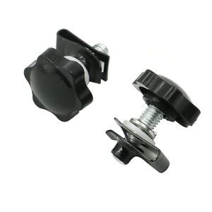 Image 5 - 4 pcs Security Theft Deterrent Saddlebag Saddle bag Luggage Lock Hardware Mounting Kit Bolt screw For Harley Touring Road King