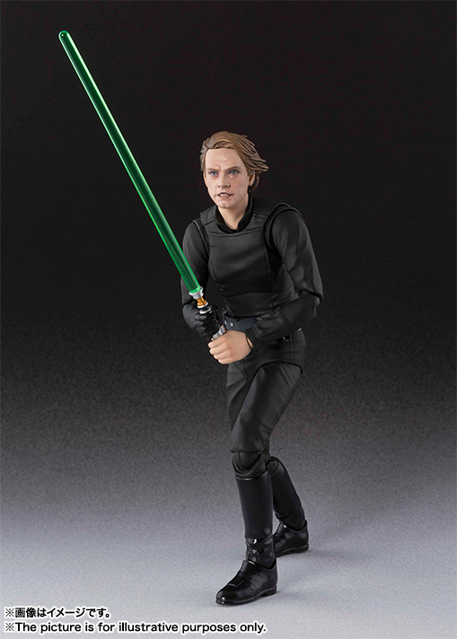 SHF Star Wars Luke Skywalker PVC Action Figure Collectible Model Toy 15cm