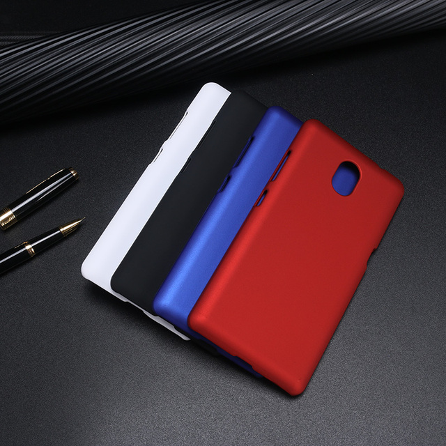new concept 3179d f6463 US $1.66  KOSDONO Hard back phone case for Lenovo Vibe P2 plastic matte  mobile phone covers Rubber feeling-in Fitted Cases from Cellphones & ...
