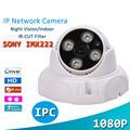 IP Network Camera HD 1/2.8'' SONY 1080P 2.0 MP ONVIF 4 Pcs Array Infrared Led Night Vision Indoor Secuirty Dome Camera