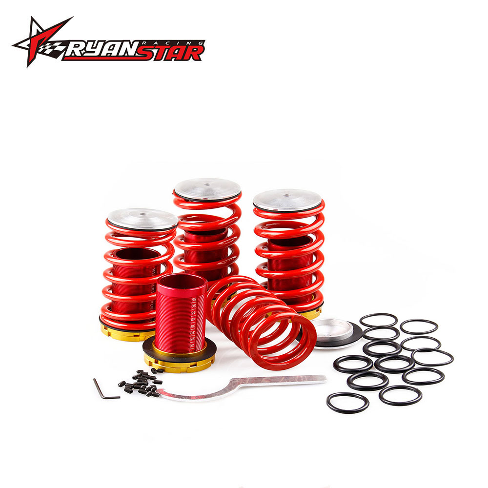 Aliexpress Com Buy Coilover Suspension Kits For Honda: Lowering Suspension Adjustable Coilover Springs Kit For