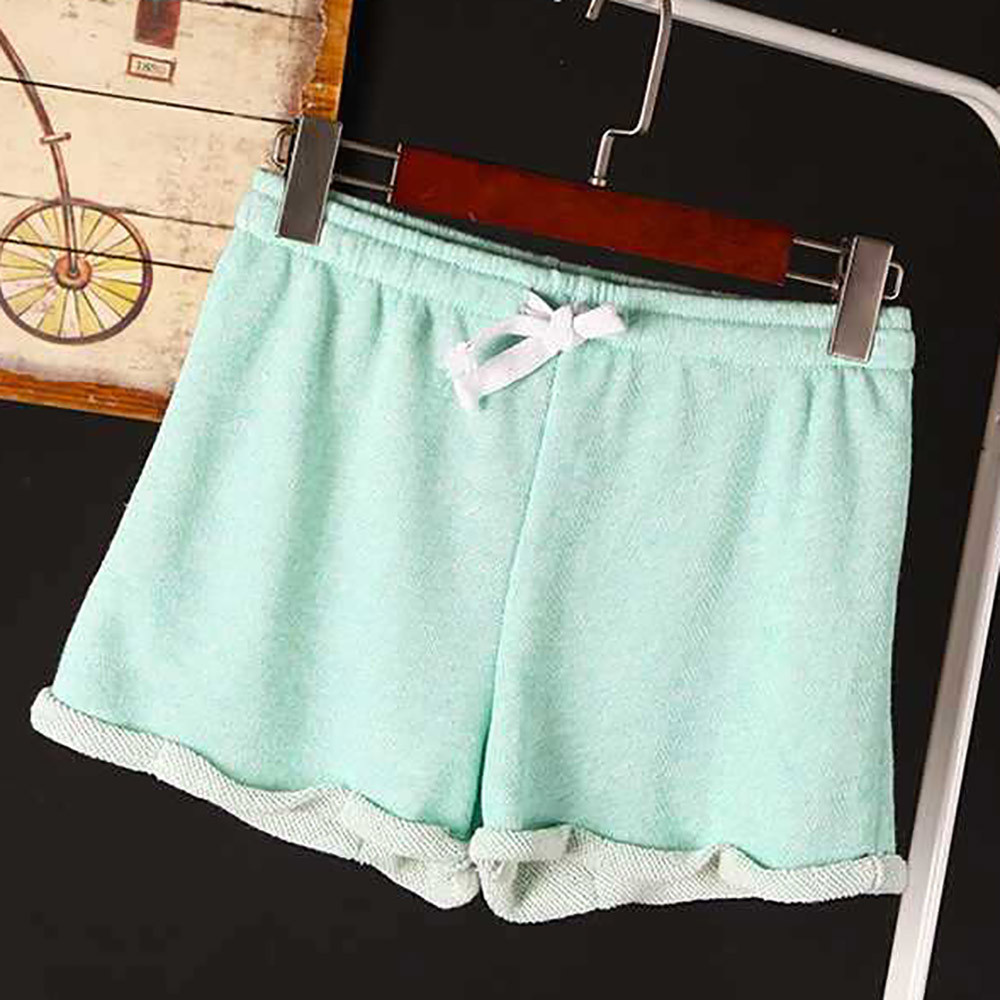 Apparel - Solid Casual Fitness Shorts