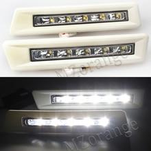 MZORANGE 2Pcs 12v CAR LED DRL for Toyota Prado FJ150 LC150 Land Cruiser 2700/4000 2010 2011 2012 2013 DRL Daytime Running Light