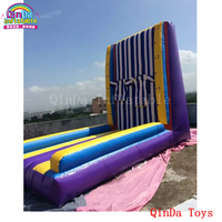 2017 hot product jumping toys inflatable sticky wall,free blower adult and kids inflatable stick wall for sale