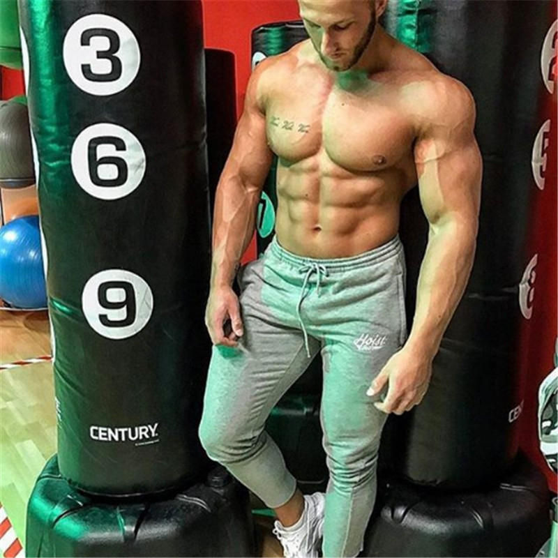2017 Muscle Brothers Autumn Winter Casual Fashionable Breathable Trend Self-cultivation Pants Size M-XXL