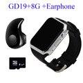 Gd19 smart watch relógio android bluetooth 2017 smartwatch telefone original smart watch crianças com slot para cartão sim câmera pk gt08 GV18