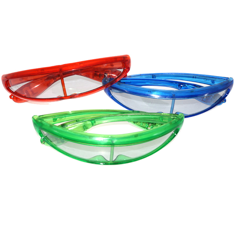2018 Digital LED Light Glasses Party Ball Fun Space glasses Novelty Gag Toys for Kids Birthday Gifts LED Toys