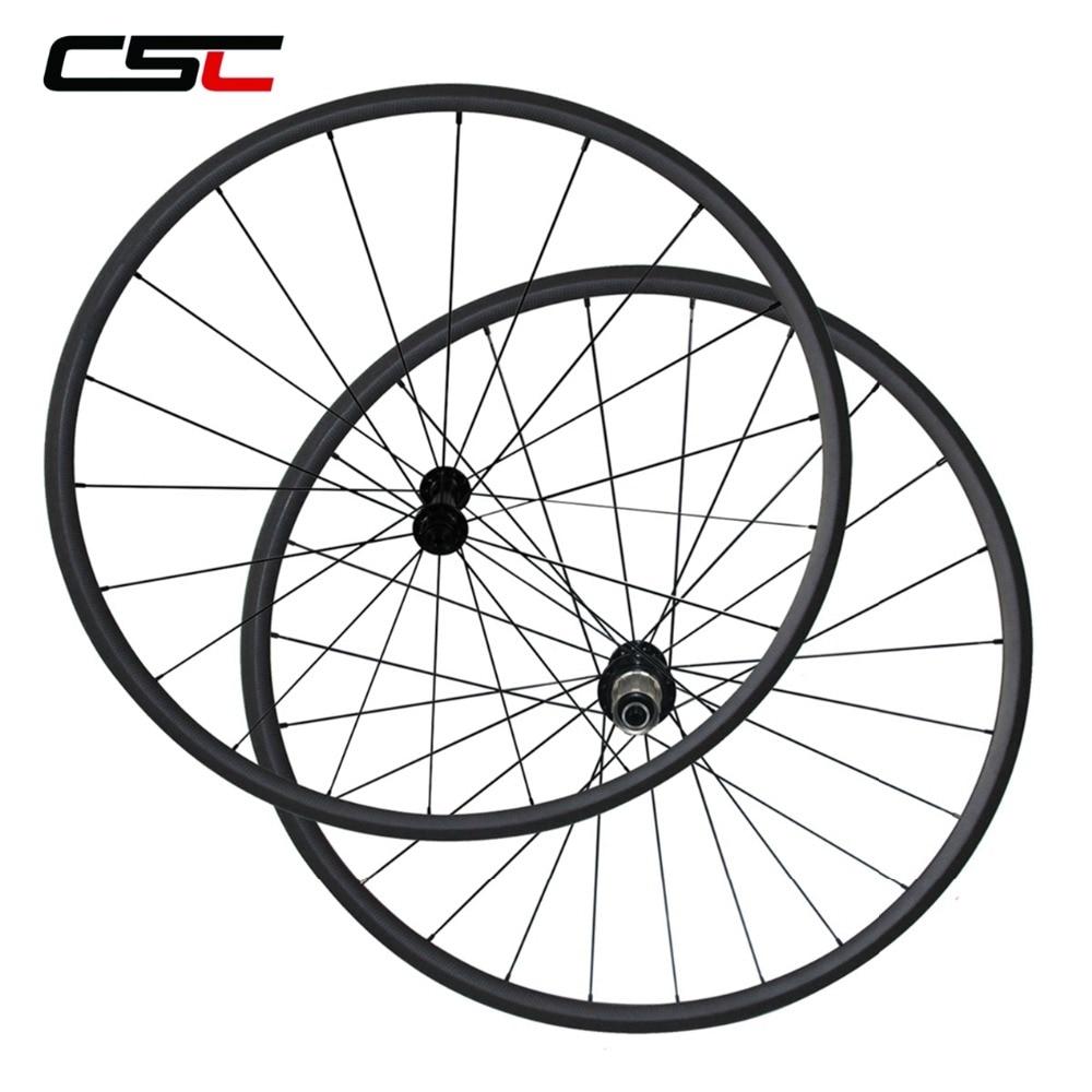 все цены на Super Light Ceramic Bearing Hub 24/38/50/60/88mm Depth Clincher Tubular Carbon Road Bike Wheels Powerway R13+CN 424 онлайн