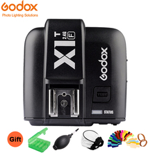 купить In the Stock Godox X1T-F TTL HSS 1/8000s 2.4G Wireless X System Power Control Flash Trigger Transmitter For Fuji Fujifilm по цене 2996.04 рублей
