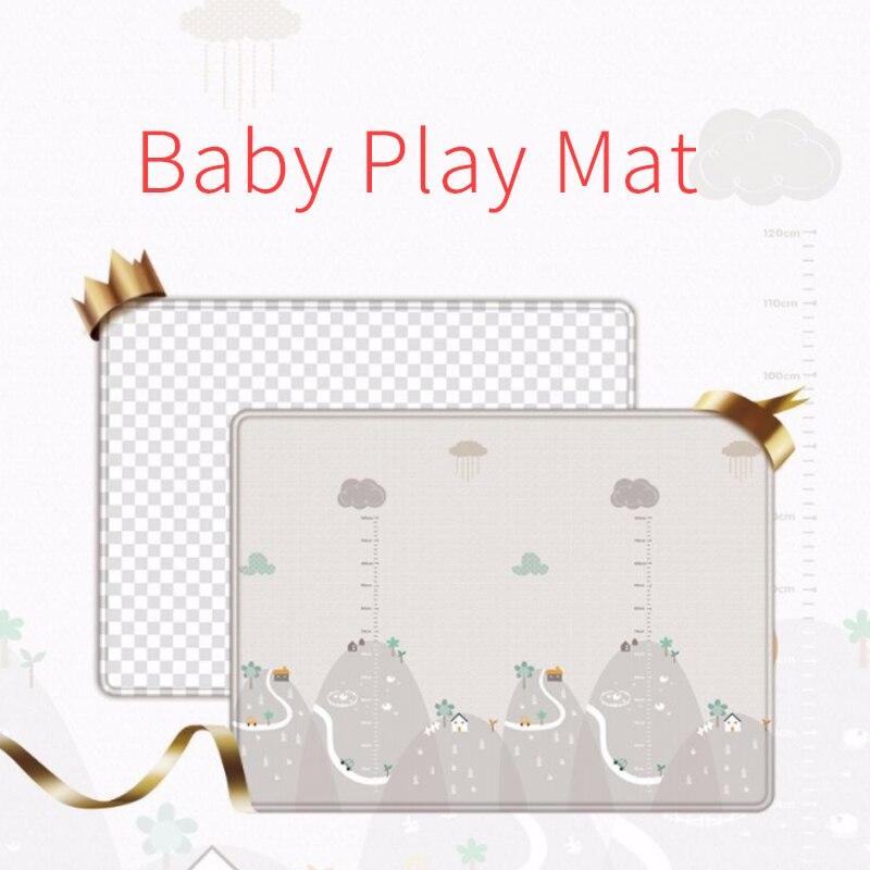 1 pièces tapis de jeu pour bébé Puzzle tapis pour enfants épaissi Tapete tapis rampant pour chambre d'enfant tapis pliant tapis bébé enfant en bas âge jouet D61