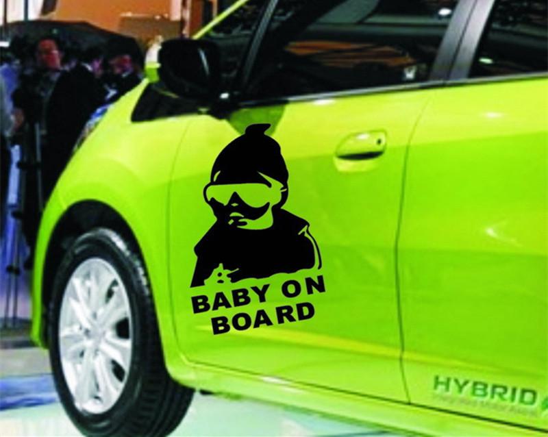 Baby On Board Funny Car Sticker