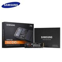 Samsung SSD 960 EVO 250 GB Interno 500 GB 1 TB 2 TB de Disco Rígido de Estado Sólido NVMe PCIe 3.0x4 NVMe 1.2 (parcial) para Computador Portátil