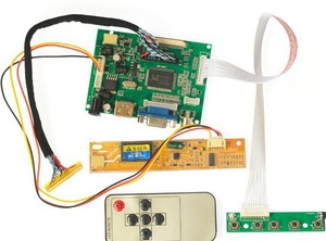 Image 1 - HDMI + 2AV+ VGA LCD Driver Controller Board Kit for Panel LP154W01 / B154EW08 / B154EW01 / LP154WX4 /LTN154X1 LTN154X3 1280*800