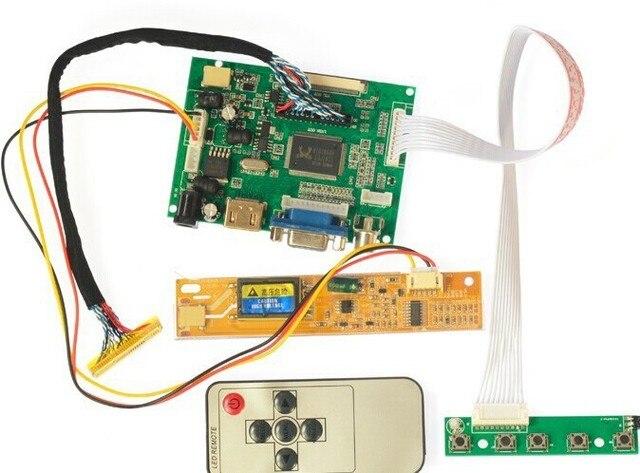 HDMI + 2AV+ VGA LCD Driver Controller Board Kit for Panel LP154W01 / B154EW08 / B154EW01 / LP154WX4 /LTN154X1 LTN154X3 1280*800