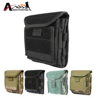 1000D Molle Admin Magazine Ammo Storage Pouch Airsoft Tactical Utility Dump Drop Pouch W/Riemlussen EDC Gear Taille tas