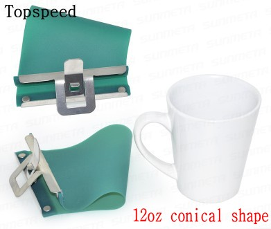 12pc 12oz Mug Clamp Fixture Holder for Conical Mugs Used in Heat Press Machine rapid fixture clamps fixture clamp fastening compactor gh101a