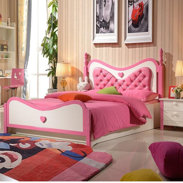 Children Princess Bed 1 2 M S Furniture Suite Oak High Storage Box Single Wood