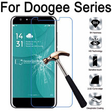 9H Tempered Glass Screen Protector For Doogee homtom HT3 HT6 HT7 HT10 HT16 HT17 HT20 X20 X30 F5 X5 X9 pro X53 Y100 film case(China)