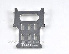 Tarot 500 pièces métal récepteur support TL8011Tarot 500 RC hélicoptère pièces de rechange FreeTrack gratuite