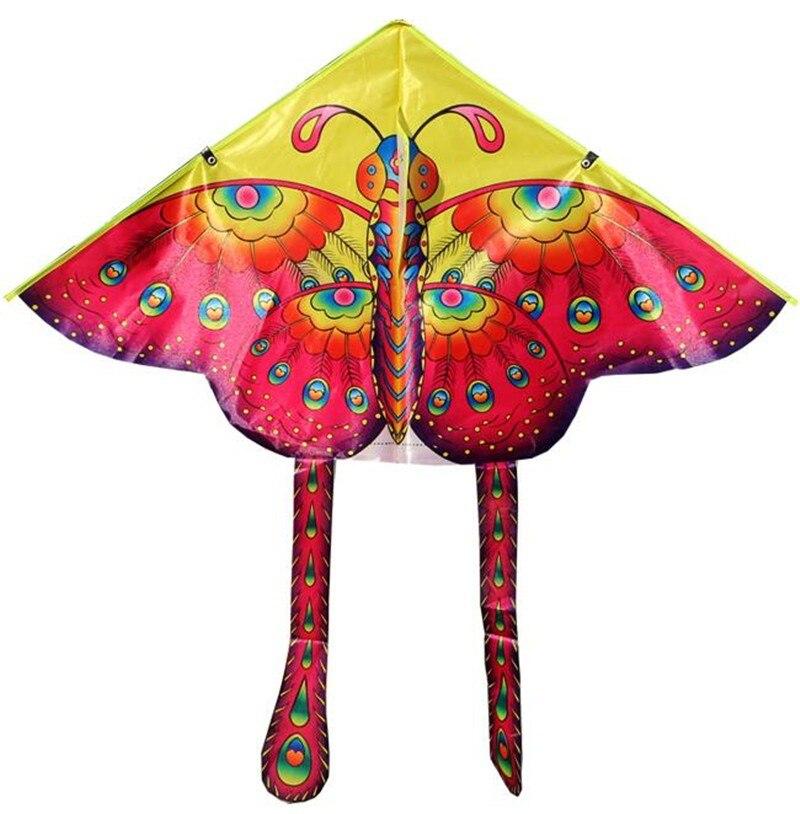 Большой Бабочка кайт красивая бабочка воздушный змей Теплообменный змей 20 шт./лот быстрый сервис экологически чистые игрушки детский летающий змей