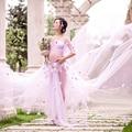 2017 OkayMom Fotografia Adereços Mulheres Grávidas Vestidos de Maternidade Para Sessões de Fotos Longo Flor Praia Vestidos Gravidez Roupas