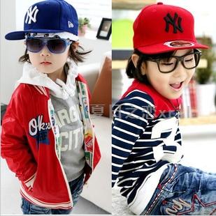 10PCS Spring and autumn child hat male baby flat brim baseball cap parent- child cap 2c5365cbf8c