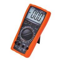 VICI VC9801A+ Digital Multimeter DMM AC/DC Ammeter Voltmeter Ohmmeter w/Capacitance hFE Tester Meter LCD Backlight Data Hold