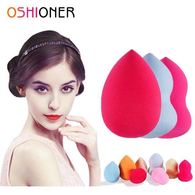 OSHIONER 1 PC esponja de maquillaje Facial Puff cosmético de Base líquida cosmética herramientas para hacer