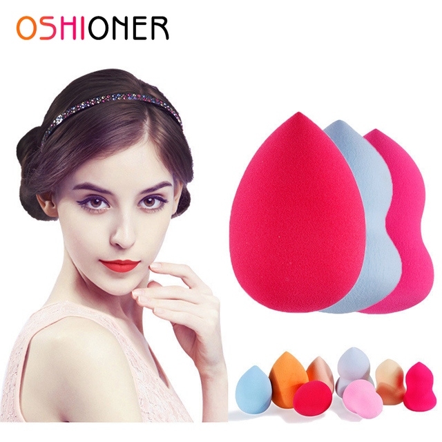 OSHIONER 1PC Foundation Sponge Facial Makeup Cosmetic Puff Base Liquid Powder Cosmetic Tools for Make up