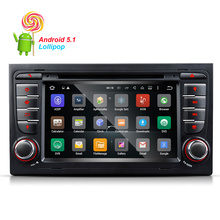Quad-Core  Android 5.1.1  Car GPS Car DVD Player For Audi S4 (2002  2004 2005 2006 2007) Fm Radio