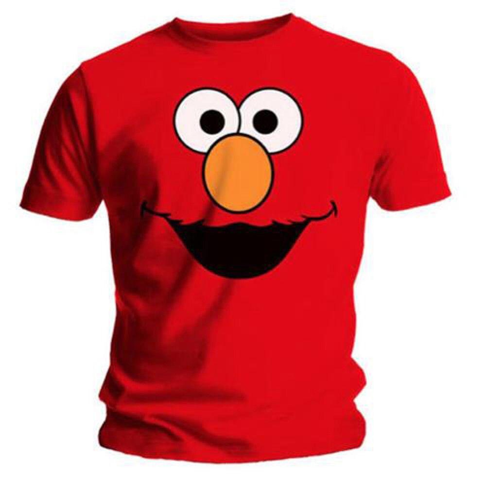 434eaadb Detail Feedback Questions about Elmo Cookies Official Sesame Street Elmos  World Red Mens T shirt Cool Casual pride t shirt men Unisex New Fashion  tshirt on ...