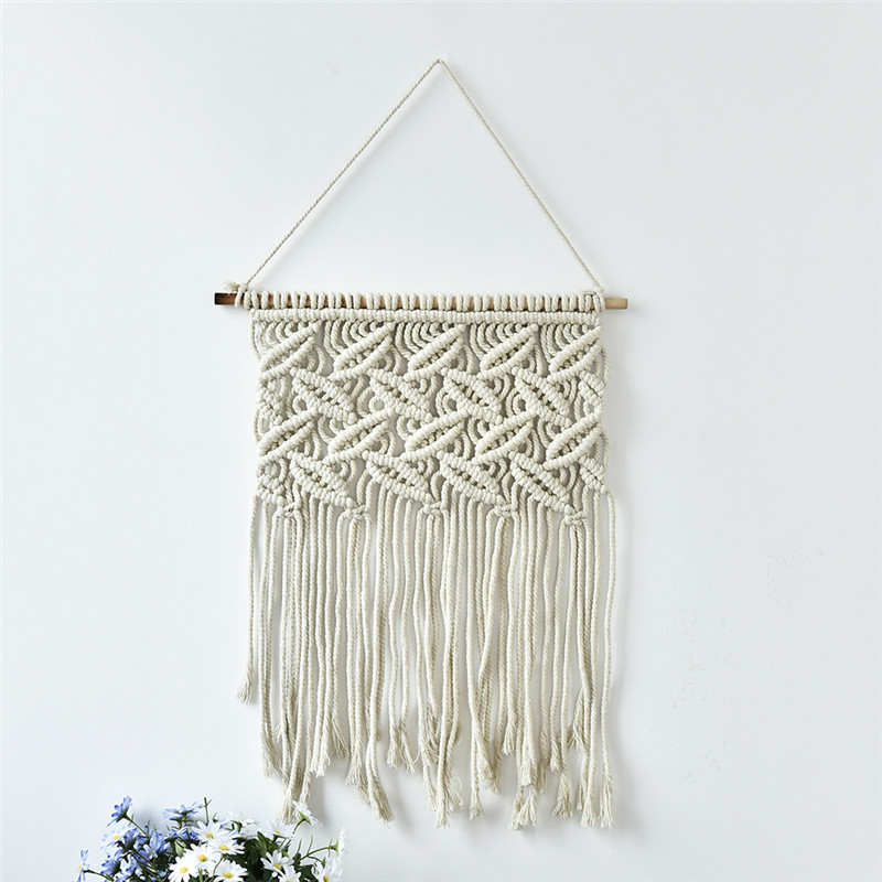 New Handmade Macrame Wall Hanging Cotton Thread Chic Home