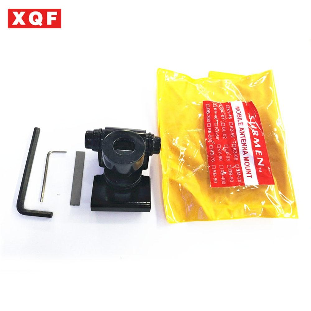 XQF K3-66 Stainless Steel Car Antenna Bracket , Trunk Lid, Hatchback Mount Bracket For Mobile Radio Antenna K3 66