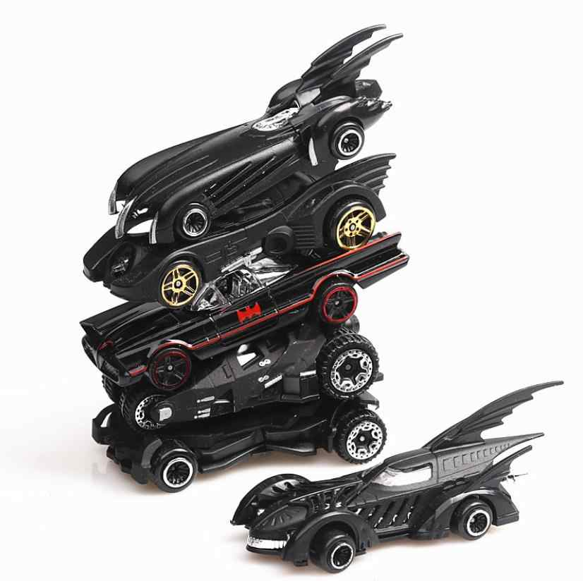 محاكاة 1: 64 سبيكة مجموعة سيارة العدالة الدوري باتمان Batmobile Diecasts و لعبة سيارات لعبة نموذج لعب للأطفال الأطفال