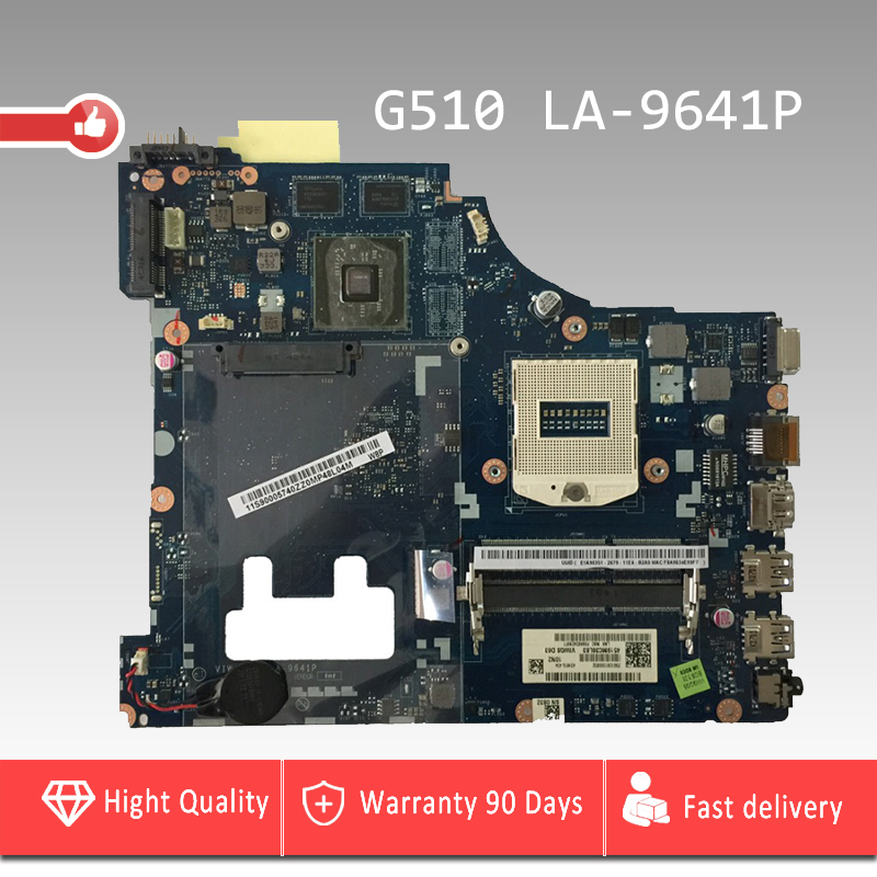 YTAI LA-9641P G510 mainboard For Lenovo G510 laptop motherboard Rev:1.0 HM86 VIWGQ/GS LA-9641P USB3.0 PGA947 DDR3 mainboard for lenovo laptop motherboard g570 piwg2 la 6753p hm65 ddr3 pga989 mainboard